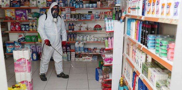 Merkezefendi'de bakkal ve marketler güvende