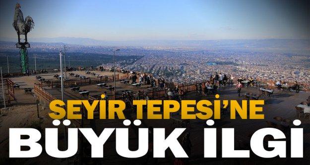Seyir Tepesi'ne büyük ilgi