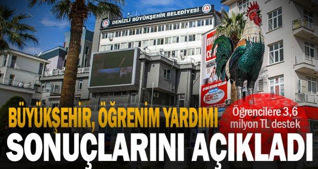 Büyükşehir'den öğrencilere 3,6 milyon TL destek