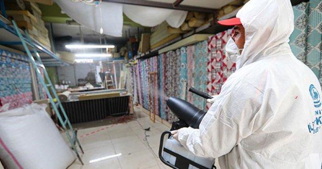 Büyükşehir dezenfeksiyon çalışmalarını sürdürüyor