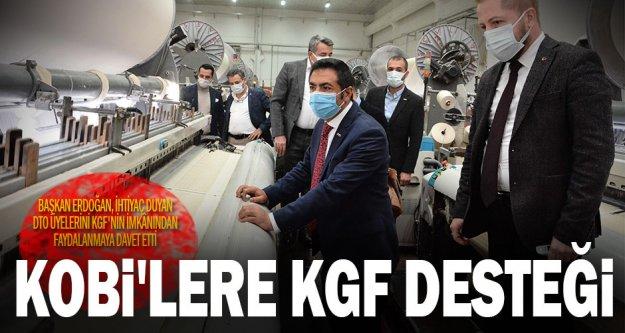 DTO Başkanı Erdoğan, ihtiyaç duyan DTO üyelerini KGF'nin imkânından faydalanmaya davet etti