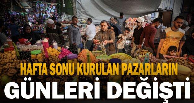 Merkezefendi ve Pamukkale'de pazar yerlerine yasak ayarı