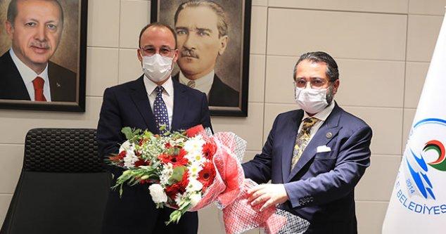 MHP İlçe Teşkilatından, Başkan Örki'ye Ziyaret