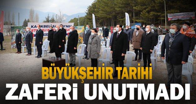 Büyükşehir tarihi zaferi unutmadı