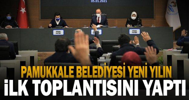 Pamukkale Belediyesi Ocak Ayı Meclis Toplantısı Tamamlandı