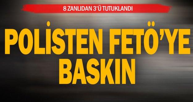 Denizli'de FETÖ operasyonunda gözaltına alınan 3 şüpheli tutuklandı