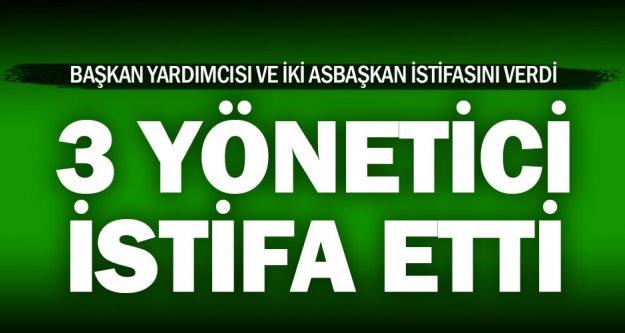Denizlispor'da üç yönetici istifa etti