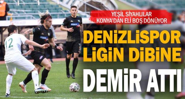 Denizlispor Konya'dan hüsranla dönüyor