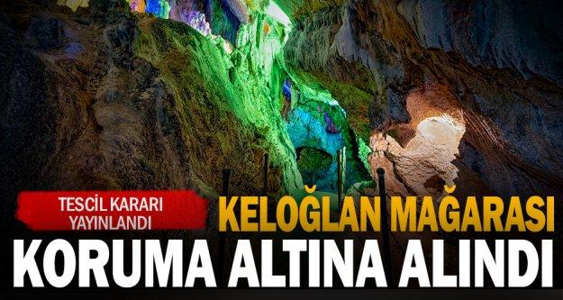 Keloğlan Mağarası koruma altına alındı