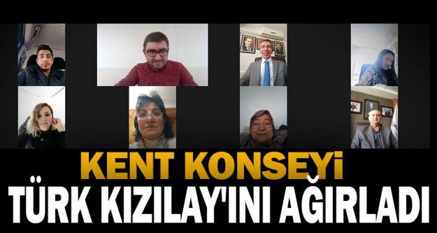 Kent Konseyi Türk Kızılay'ını ağırladı