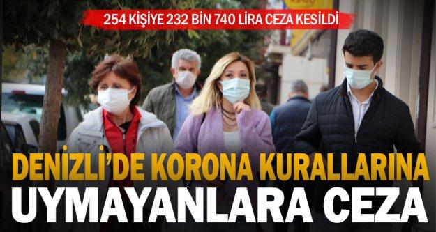 Koronavirüs kurallarına uymayanlara ceza kesildi