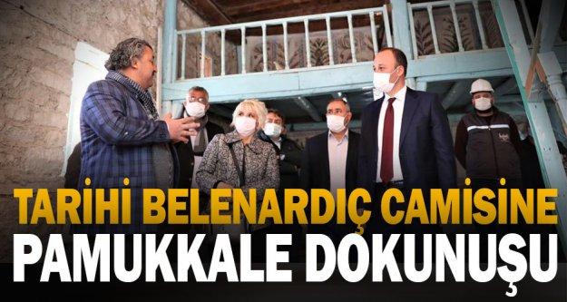 Tarihi Belenardıç Camisine Pamukkale Belediyesi Eli Değdi