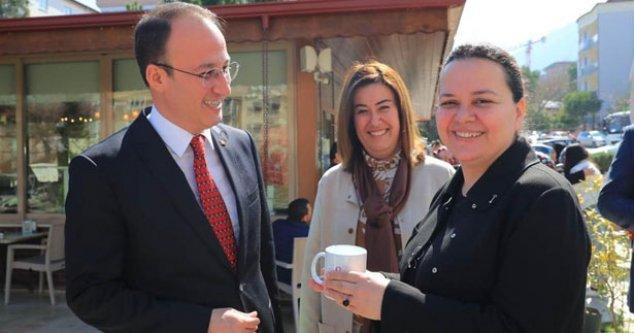 Başkan Örki'den, Milletvekili Ök'e Tebrik