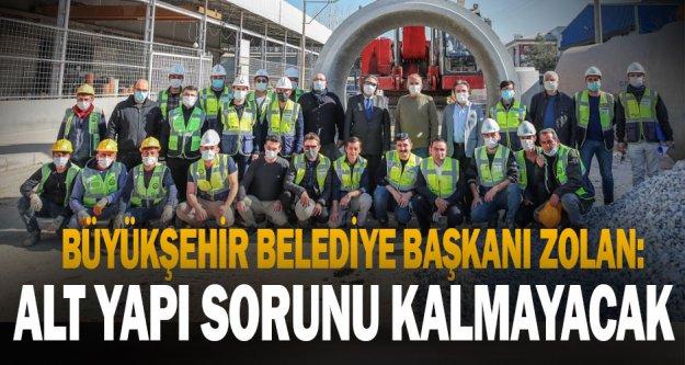 Başkan Osman Zolan, 'Denizli'de altyapı sorunu yaşayan tek bir mahalle kalmayacak''