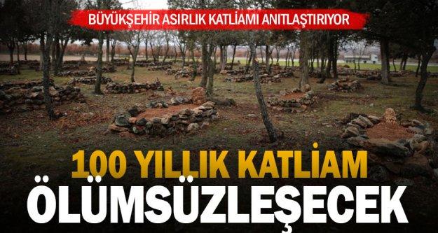 Denizli'nin ilk milli mücadele şehitliği Büyükşehir'den