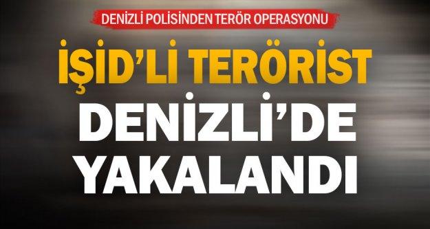 İŞİD'li terörist yakalandı