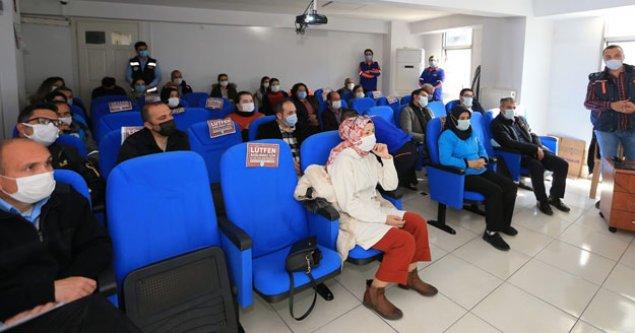 Pamukkale Belediyesi personelini afetlere karşı hazırlıyor