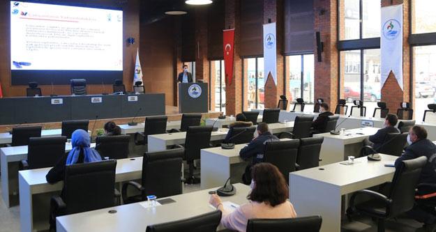 Pamukkale Belediyesi'nde personel eğitimleri sürüyor