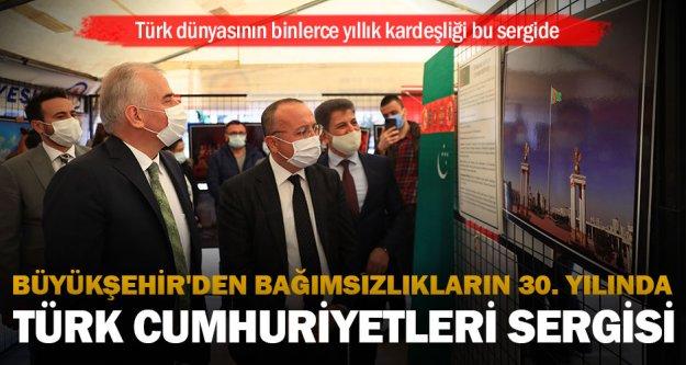 Türk dünyasının binlerce yıllık kardeşliği bu sergide