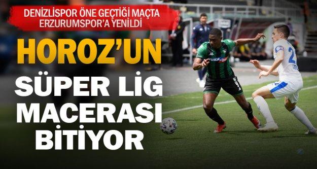 Denizlispor Süper Lig'de kalma şansını tüketiyor
