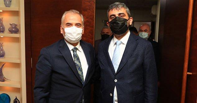 MHP'den Başkan Zolan'a ziyaret