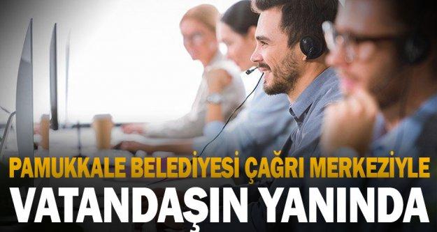 Pamukkale Belediyesi tam kapanmada da vatandaşların yanında