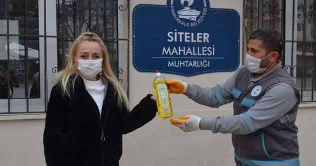 Pamukkale Belediyesi'nden çevreye destek