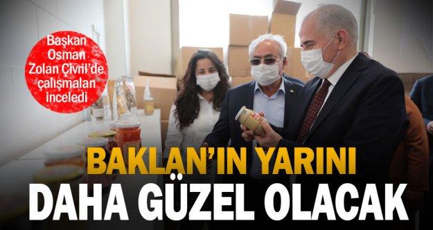 Büyükşehir Belediye Başkanı Osman Zolan Baklan'ı ziyaret etti, çalışmaları inceledi