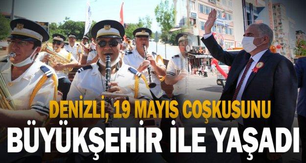 Denizli, 19 Mayıs coşkusunu Büyükşehir ile yaşadı