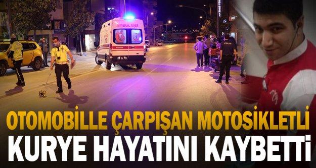 Denizli'deki trafik kazasında yaralanan motosikletli kurye hastanede hayatını kaybetti