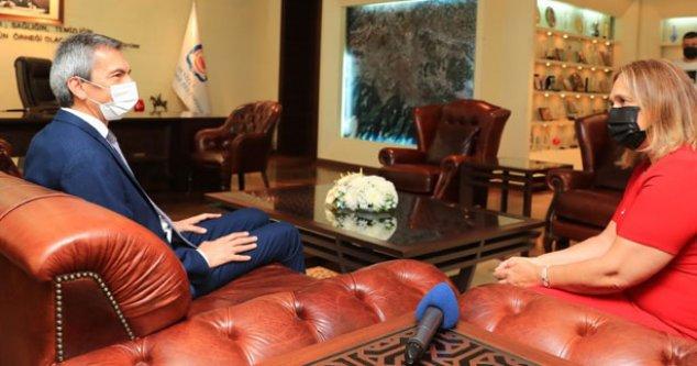 Kosova Başkonsolosu'ndan Büyükşehir'e ziyaret