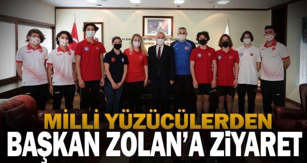 Millilerden Başkan Zolan'a ziyaret