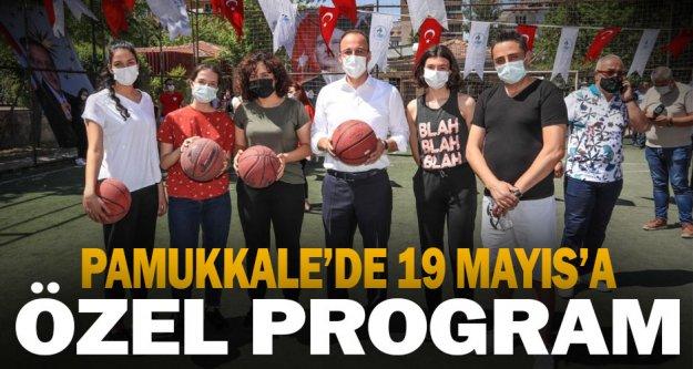 Pamukkale'de 19 Mayıs coşkusu farklı yaşanıyor