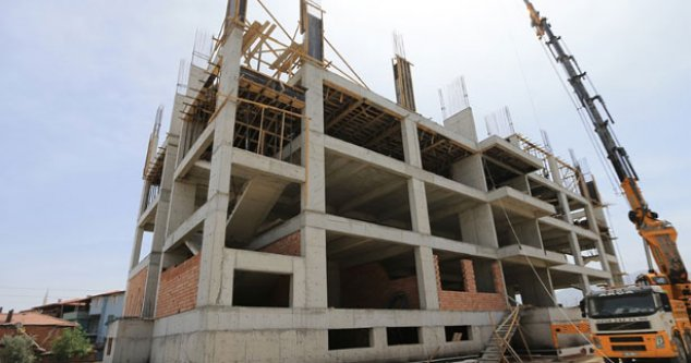 Pamukkale'de eğitim kurumu yükseliyor