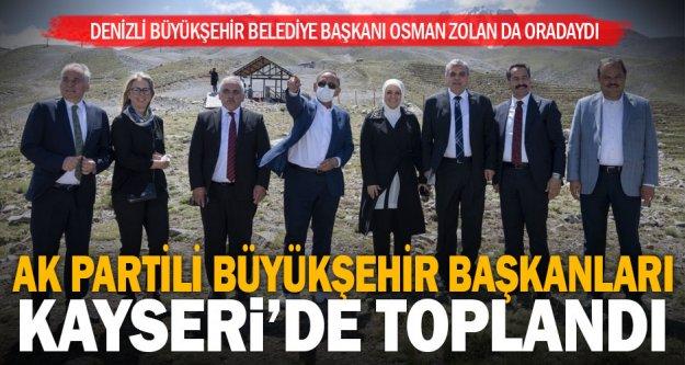 Ak Parti Yerel Yönetimler İstişare Toplantısı Kayseri'de yapıldı: Başkan Zolan da katıldı