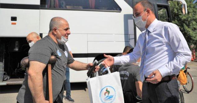 Başkan Örki basketbolcuları şampiyonluğa uğurladı