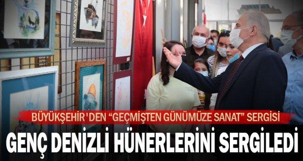 """Büyükşehir'den 'Geçmişten Günümüze Sanat"""" sergisi"""