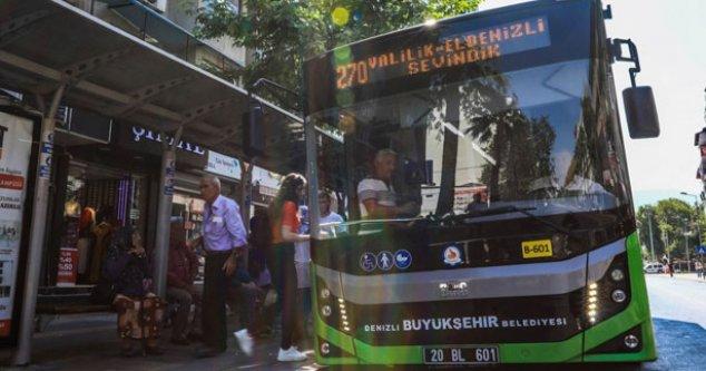 Büyükşehir otobüsleri LGS için seferde