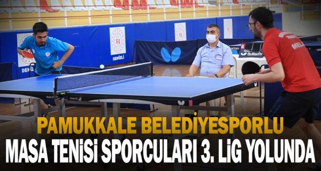 Pamukkale Belediyespor Masa Tenisi'nde de iddialı