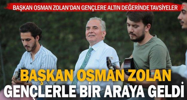 Başkan Osman Zolan'dan gençlere altın değerinde tavsiyeler