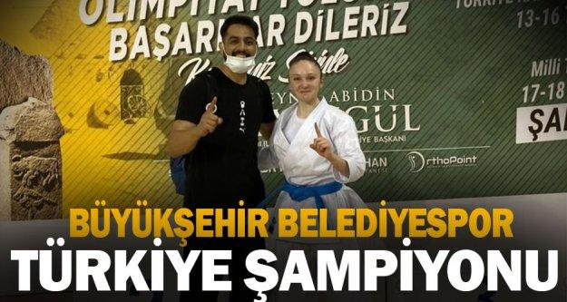 Büyükşehir Belediyespor Türkiye Şampiyonu