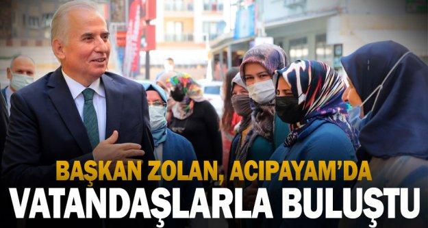 Başkan Zolan: Acıpayam'da hizmet destanımız devam edecek