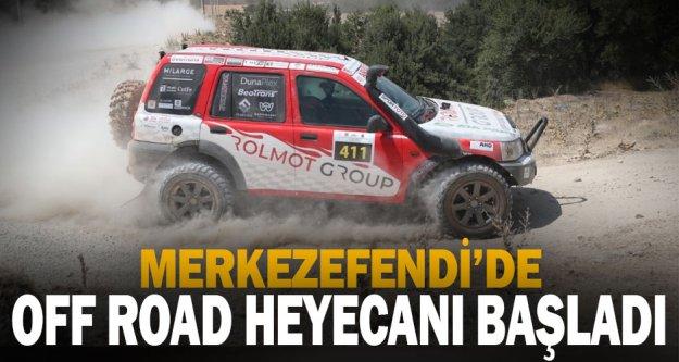 Damalı bayrak sallandı: Off Road Türkiye Şampiyonası Denizli etabı başladı