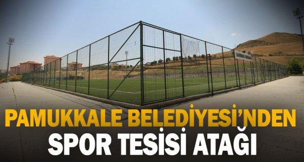 Pamukkale Belediyesi'nden spor tesisi atağı