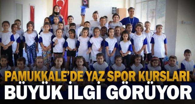 Sporun kalbi Pamukkale'de atıyor
