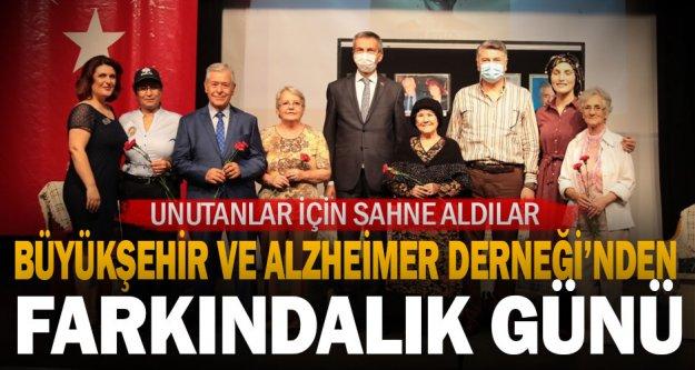 Büyükşehir ve Alzheimer Derneği'nden farkındalık günü