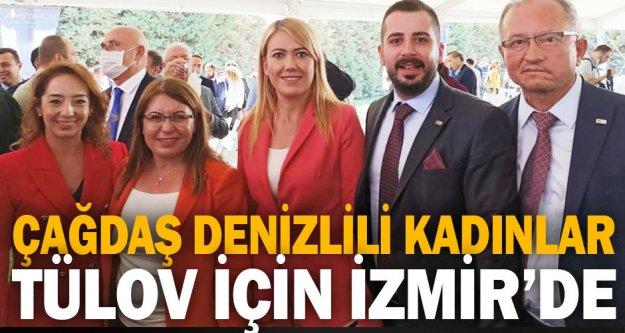 Çağdaş Denizlili Kadınlar TÜLOV için İzmir'de