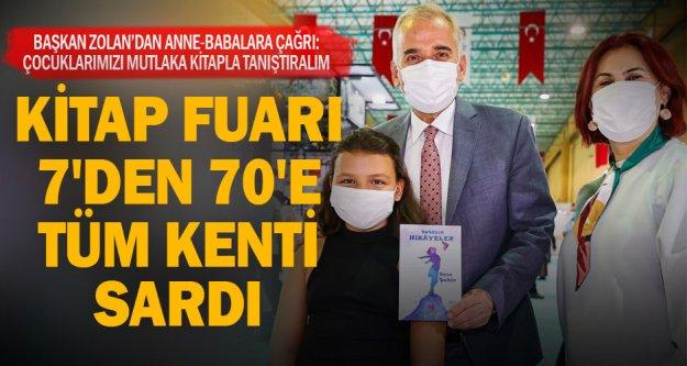 Başkan Zolan'dan anne-babalara çağrı: Çocuklarınızı kitapla tanıştırın
