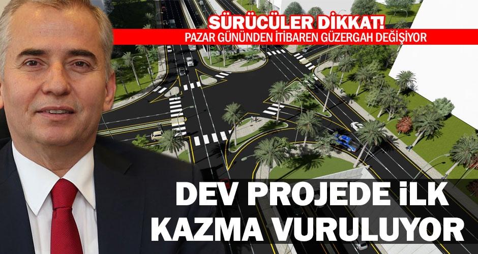Zeybek Köprülü Kavşağı inşaatı başlıyor