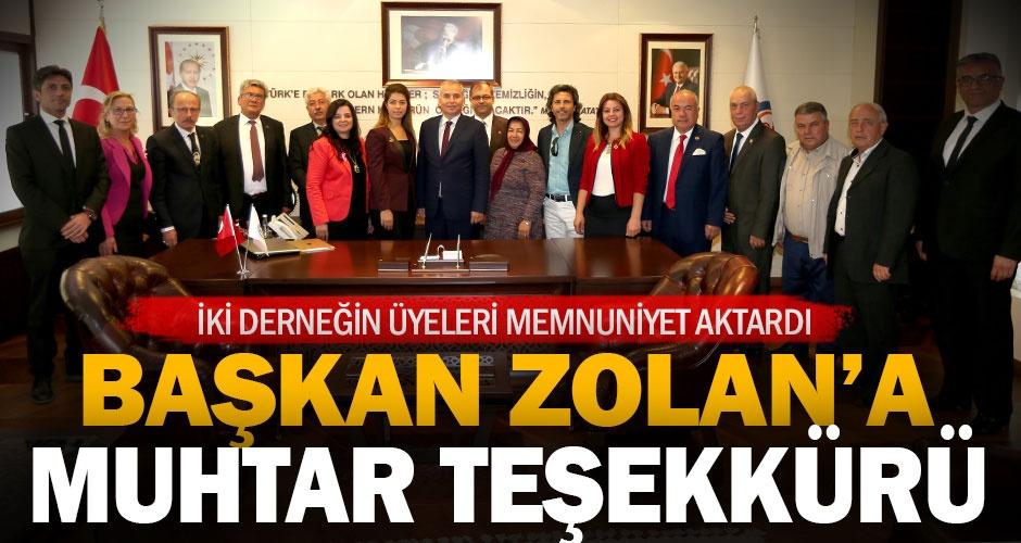 Başkan Osman Zolan, muhtarları ağırladı